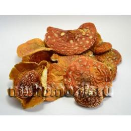 Сушеные шляпки красного мухомора бережной сушки 200 гр.